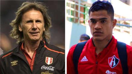 Anderson Santamaría reveló lo que Ricardo Gareca le pidió en su primer llamado a la Selección Peruana