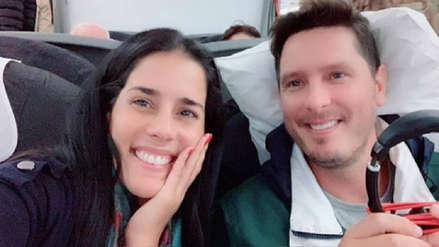 El romántico detalle que Cristian Rivero dedicó a Gianella Neyra desde Italia