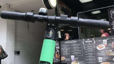 Capturan a delincuentes que robaron scooters eléctricos en San Isidro