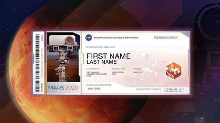 ¿Quieres llegar a Marte? Una misión de la NASA permite enviar tu nombre al planeta rojo