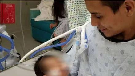 Padre de bebé arrancado de vientre materno en Chicago decide no desconectarlo