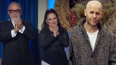 Gian Marco emocionó a Emilio y Gloria Estefan al interpretar