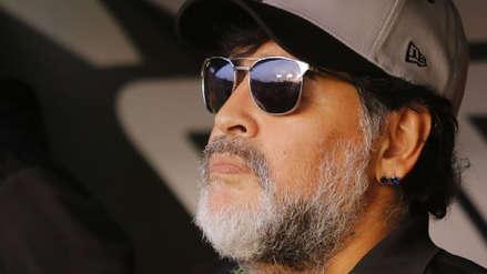 Diego Maradona fue detenido al llegar a Argentina