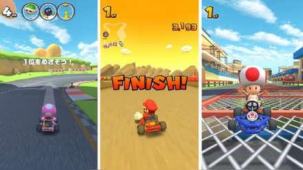 Nuevas capturas y videos de la jugabilidad de Mario Kart Tour para móviles