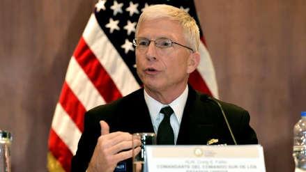Jefe del Comando Sur de EE.UU.: Apoyar cambio democrático en Venezuela es lo