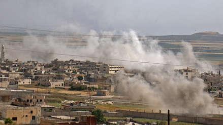Bombardeos en norte de Siria dejan 23 civiles y decenas de combatientes muertos [VIDEO]