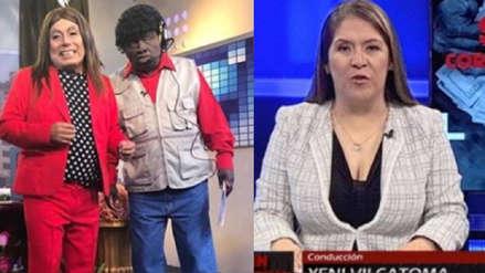 Jorge Benavides alista imitación de la congresista Yeni Vilcatoma para su programa
