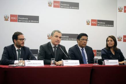 Del Solar: Iniciativas de la reforma política se deben someter a debate,