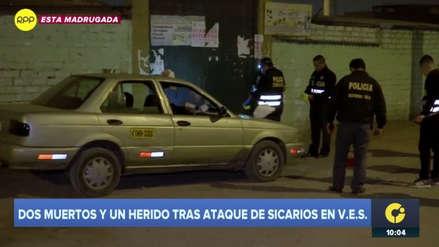 Sicarios asesinaron a dos hombres en puerta de mercado en Villa El Salvador