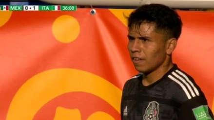 México vs. Italia: El conjunto azteca marcó su primer gol en el Mundial Sub 20