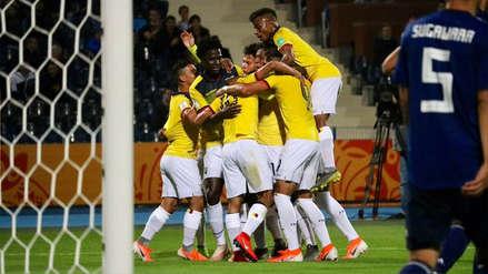 Ecuador empató 1-1 con Japón en su debut en el Mundial Sub 20 de Polonia