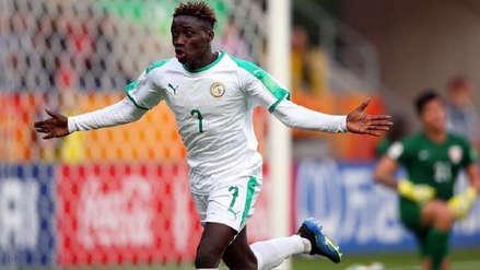 Jugador de Senegal marca el gol más rápido de la historia de los Mundiales Sub 20