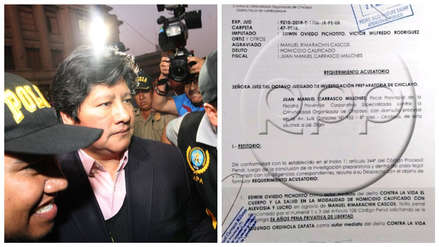 Fiscalía pide 26 años de prisión para Edwin Oviedo por caso 'Los Wachiturros de Tumán'