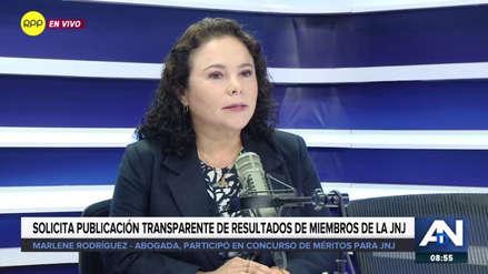 Abogada denunció errores en algunas preguntas del examen a la Junta Nacional de Justicia