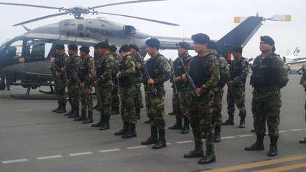 La Libertad recibe a 550 nuevos policías y un helicóptero para la lucha contra la criminalidad