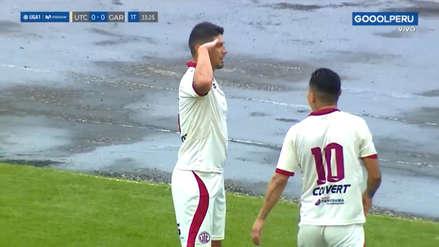 ¡Espectacular! Sergio Almirón anotó golazo de volea en el triunfo de UTC ante Real Garcilaso