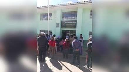 Adolescente acusado de ultrajar a mujer de 35 años se salva ser linchado en Acomayo