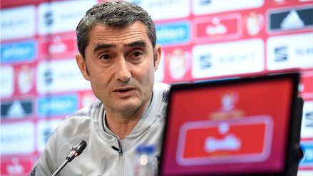 Ernesto Valverde no piensa en si se 'juega su puesto' en la final de la Copa del Rey