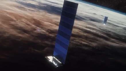Space X lanza 60 satélites al espacio para iniciar su propia red de internet