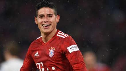 El mensaje de James Rodríguez con el que los hinchas de Bayern Munich sueñan con su continuidad