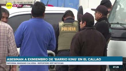Asesinan en el Callao a presunto integrante de la peligrosa banda 'Barrio King'