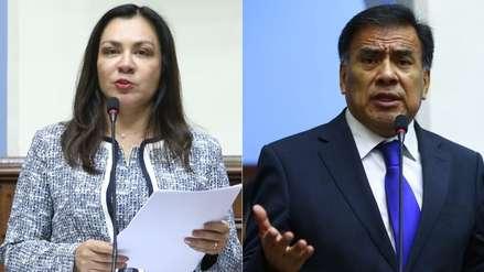 Velásquez Quesquén y Marisol Espinoza niegan haber recibido dinero para favorecer a Oviedo