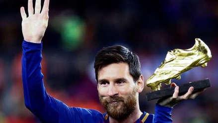 Lionel Messi se llevó su sexta Bota de Oro, la tercera consecutiva