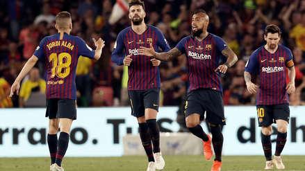 Valencia campeón de la Copa del Rey: venció 2-1 al Barcelona