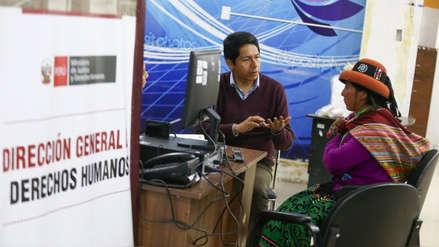 Ministerio de Justicia instaló Oficina de Derechos Humanos en Challhuahuacho