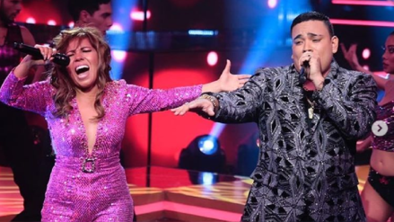 """""""El artista del año"""": Josimar y Susan Ochoa cantaron juntos por primera vez y el jurado se puso de pie"""