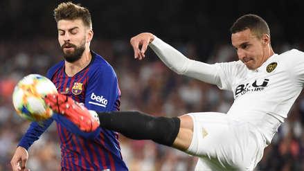 Barcelona cayó ante Valencia y no pudo levantar el trofeo de la Copa del Rey