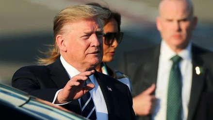 Donald Trump llega a Japón en plena crisis comercial asiática
