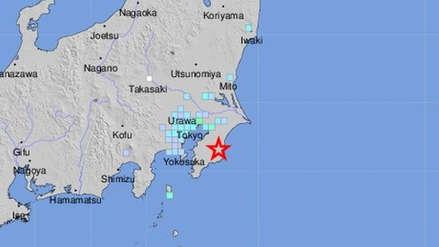 Un fuerte sismo de magnitud 5.1 remeció el sureste de Tokio
