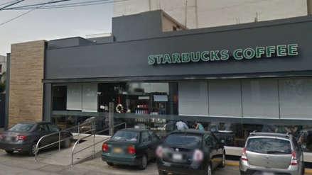 Starbucks se pronunció tras asalto a clientes y trabajadores en su local de Surco
