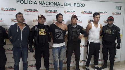 Armas, celulares y una granada: así fue la captura de la banda que robó en un Starbucks de Surco