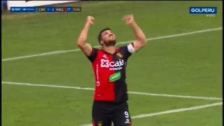 Bernardo Cuesta aprovechó desatención de Sporting Cristal y marcó el segundo gol de Melgar