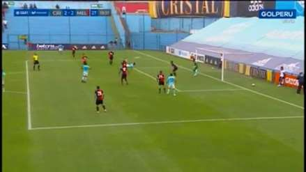 ¡Tremenda 'chalaca'! Christofer Gonzales marcó un golazo ante Melgar