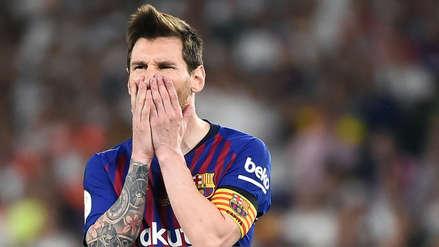 Lionel Messi: así se lamentó tras la derrota de Barcelona en la final de la Copa del Rey