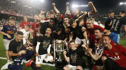 Valencia venció a Barcelona: los mejores festejos del campeón de la Copa del Rey