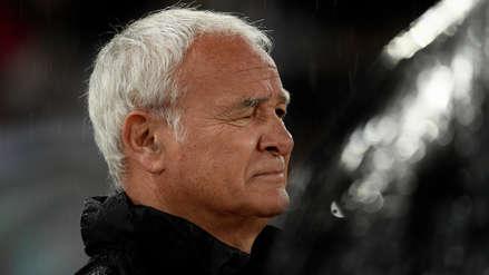 Las lágrimas de Claudio Ranieri en su emotiva despedida de la Roma