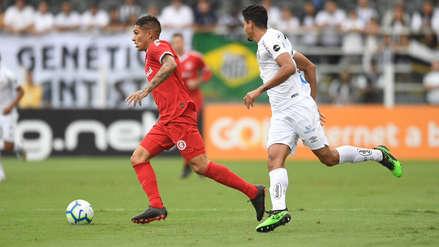 Con Guerrero y Cueva, Internacional empató con Santos por la fecha 6 del Brasileirao