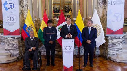 Terremoto en Loreto | Martín Vizcarra agradece la solidaridad de la Comunidad Andina