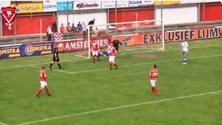 ¡Para no creer! Árbitro marcó gol en partido de la Cuarta División de Holanda