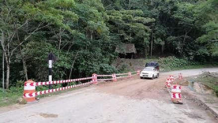 La vía Yurimaguas – Tarapoto quedó restringida tras terremoto en Loreto