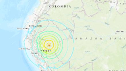 Fuerte sismo registrado en Loreto se sintió en Colombia, Ecuador y Brasil