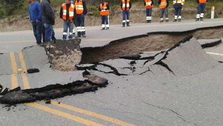 Estas son las carreteras afectadas tras el terremoto en Loreto
