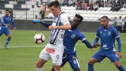 Alianza Lima venció a Binacional e impidió que salga campeón del Torneo Apertura en Matute