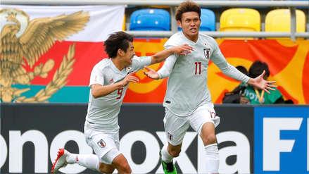 México cayó goleado 3-0 ante Japón y se complicó en el Mundial Sub 20