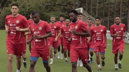 Perú vs. Costa Rica: los 'ticos' iniciaron los entrenamientos para enfrentarse a la blanquirroja