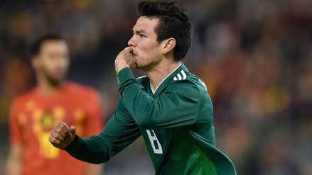 ¡Importante ausencia! Hirving Lozano no jugará la Copa de Oro con México por lesión